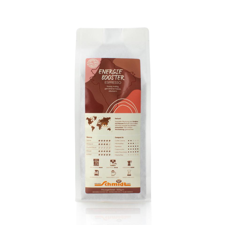 Länderspezialitäten - Energie Booster - Espresso