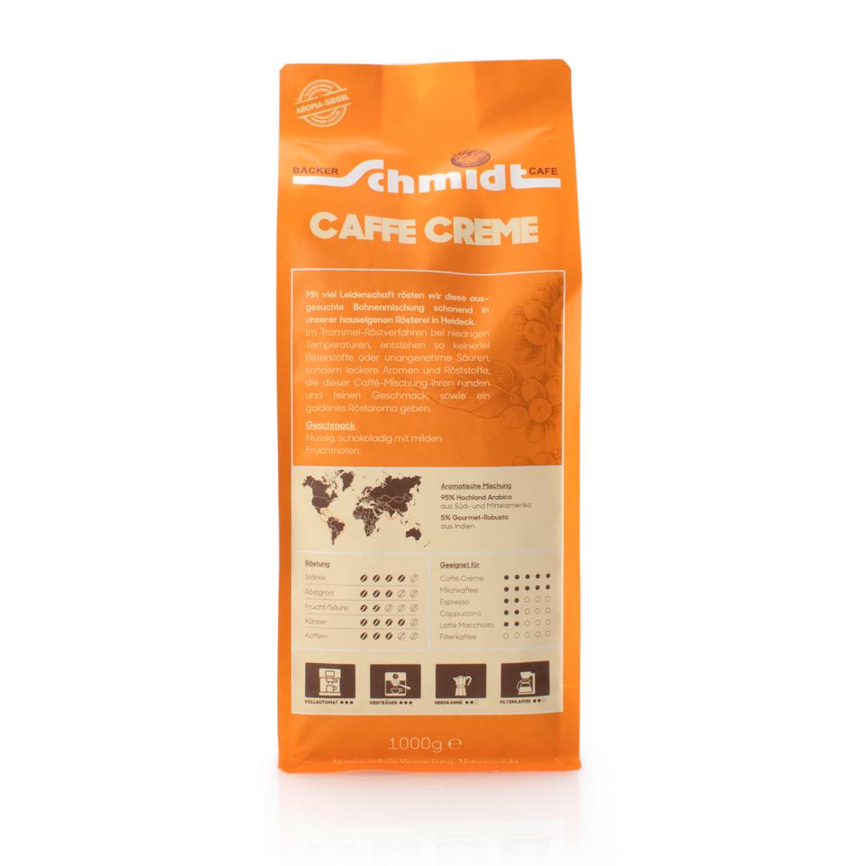 Caffè Creme, hausgeröstet, 1000g