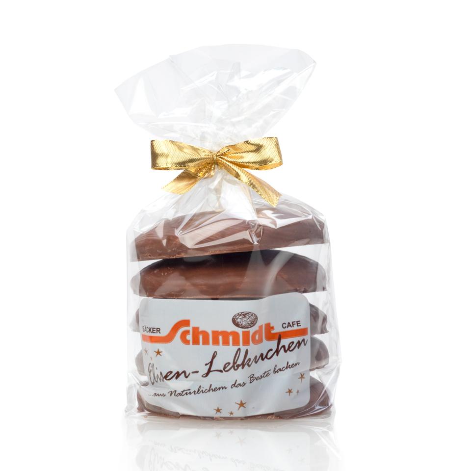 5er Elisenlebkuchen - Vollmilch Pralinenschokolade - 5 Stück