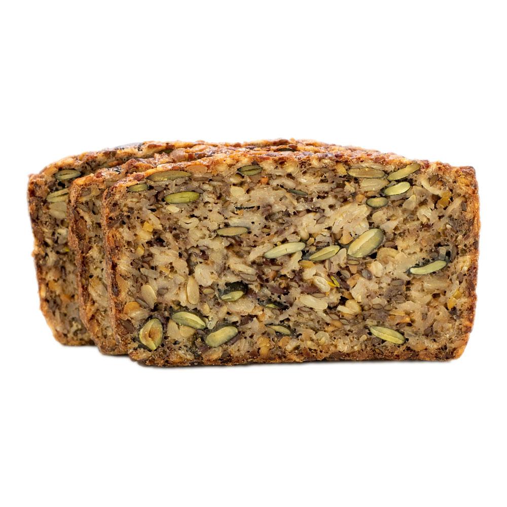 Körnerbrot ohne Mehl: unser Energiebündel