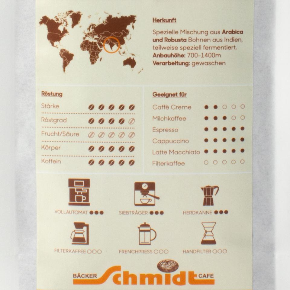 Länderspezialitäten - Energie Booster - Espresso, hausgeröstet