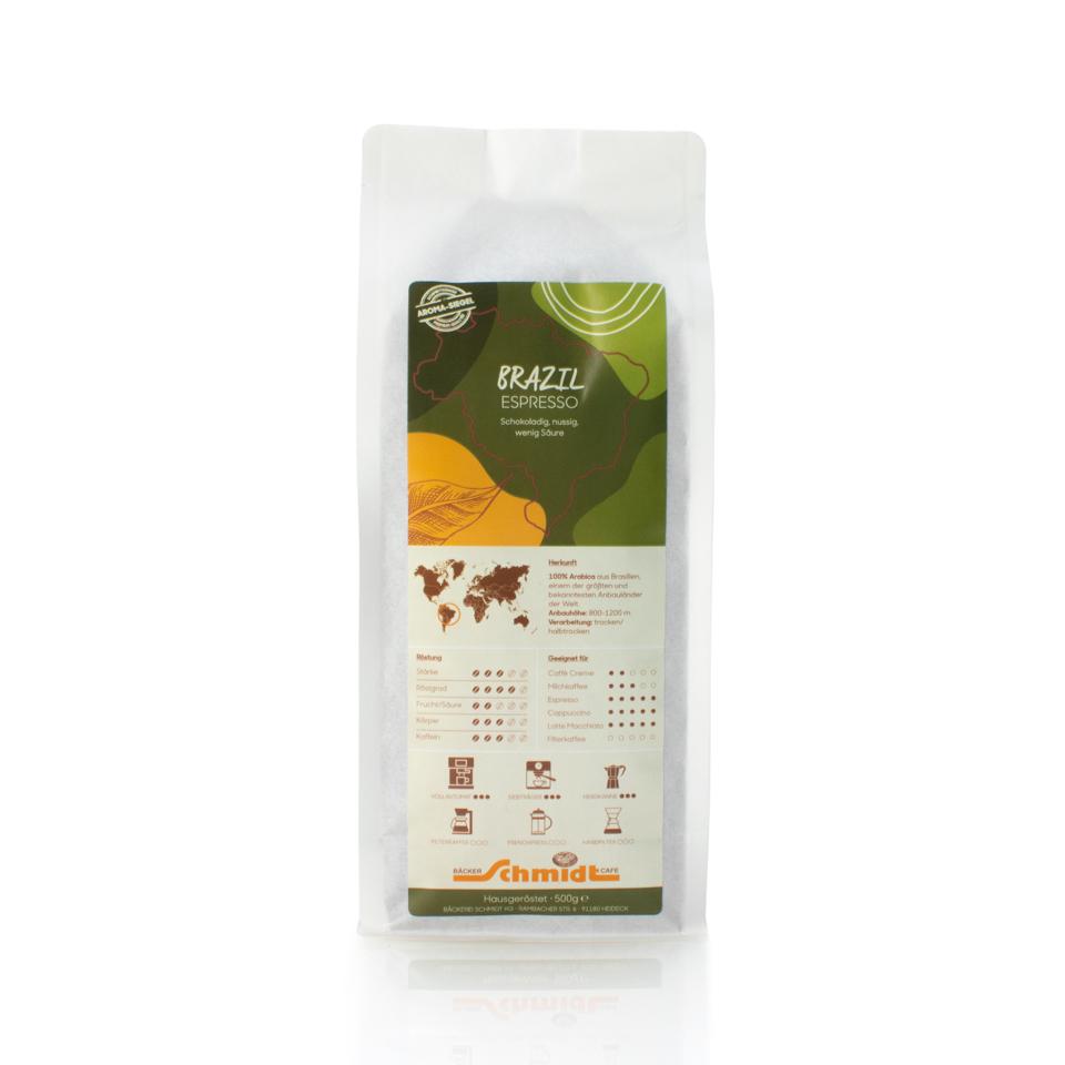 Länderspezialitäten - Brazil - Espresso, hausgeröstet
