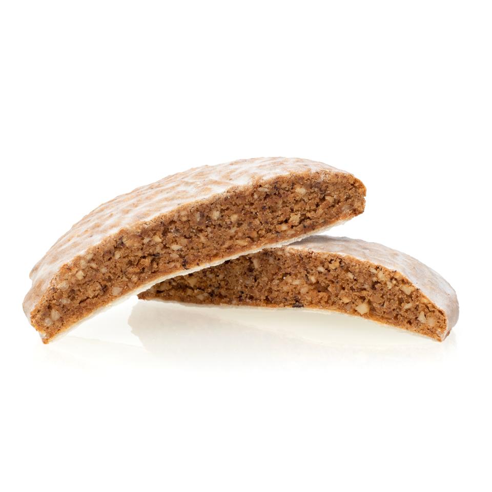 5er Elisenlebkuchen - Weiße Zuckerglasur - 5 Stück