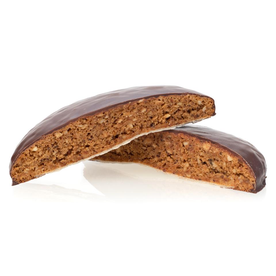 5er Elisenlebkuchen - Dunkle Pralinenschokolade - 5 Stück
