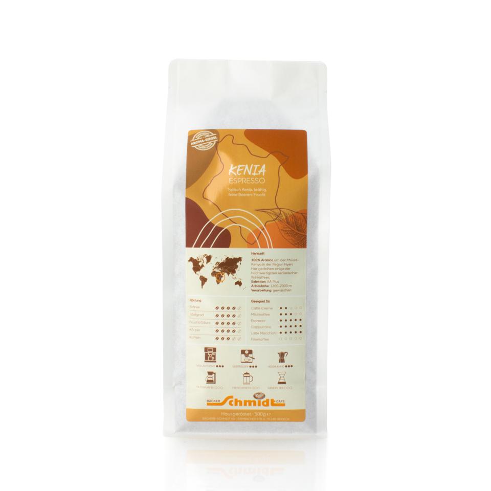 Länderspezialitäten - Kenia - Espresso, hausgeröstet